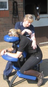 Picture of Chair Massage or Riders