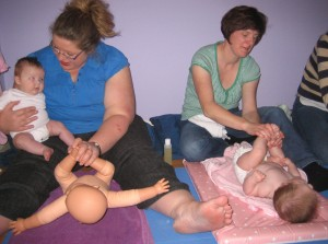 Infant Massage Mothers Learning