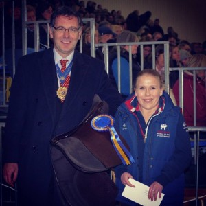 highest overall placed para rider at national championships