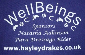 back design WellBeings polo shirts